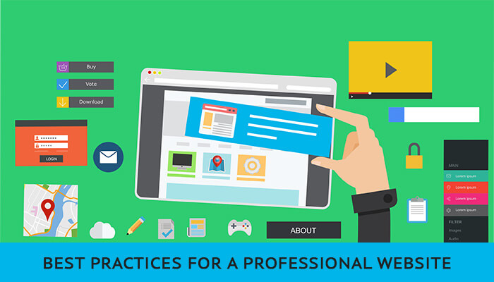 Best Practices For A Professional Website
